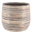 Keramik Kübel Saigon, D14cm, H12cm, für TO13, meer